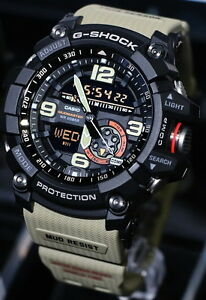 Casio-G-Shock-Mudmaster-Twin-Sensor-Men-039-s-Watch-GG-1000-1A5