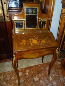 Antique-French-XVI-Louis-Bonheur-Du-Jour-Ladies-Desk-Museum-Quality