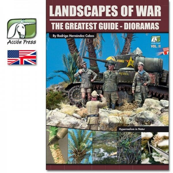 Euro Modelismo Landscapes Of War  The Greatest Guide - Dioramas Vol.2 (English)