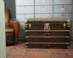 Antique-Steamer-Trunk-by-Goyard-Aine