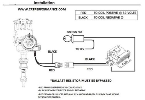 Small Block Ford 289 302 Red Hei, Ford 289 Coil Wiring Diagram