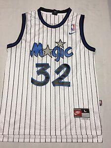 new concept e1a62 97e93 Shaquille O'Neal Orlando Magic Basketball Jersey Nike Large ...
