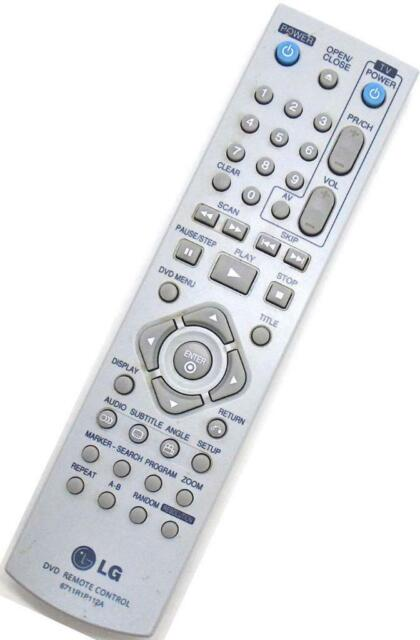 Genuine LG 6711R1P112A DVD Player Remote For DNX190H DNX190UH DNX190MH