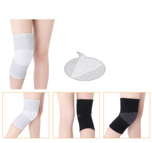 Details about  /2pcs Thermal Knee Legging Warmers Joints Arthritis Sleeves Pain Relief Support