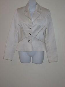 Blazer Ribbed Silver 8 Sz Hannant Bead White Bugle Douglas Button Bq0ET