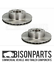 034-FITS-IVECO-DAILY-2014-ON-FRONT-VENTED-BRAKE-DISC-FITS-RH-amp-LH-BP105-022-X-2 thumbnail 1