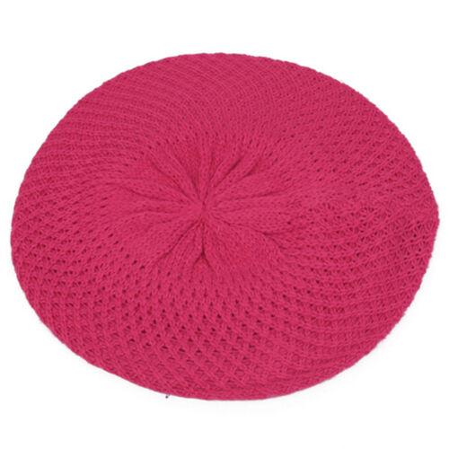 Pop Fashionwear Various Color Winter Knit Beret Crochet Beanie 140HB