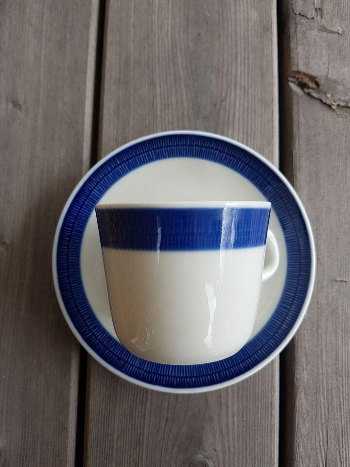 Porcelæn, Kaffekopper, Blå koka fra Rörstrand