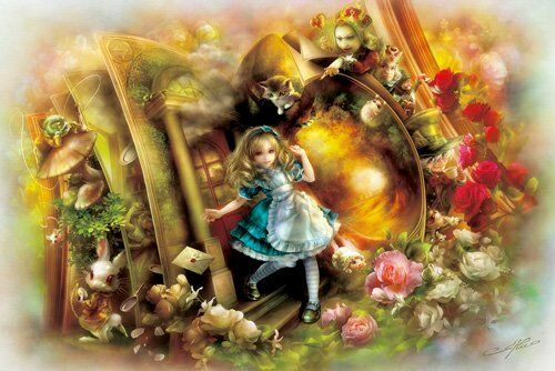 NEW APPLEONE Jigsaw Puzzle 1000-678 Alice In Wonderland  1000 Pieces  F/S