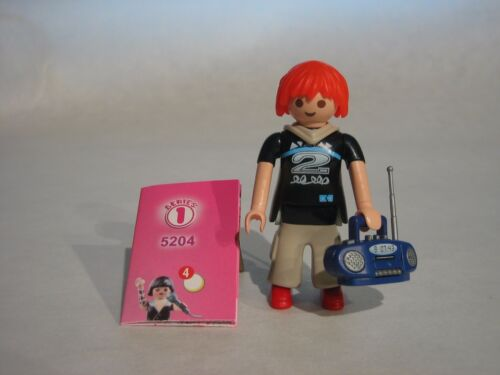 Playmobil Girls ** Serie 1 **  Hip-Hop Tänzerin Figur 5204 NEU