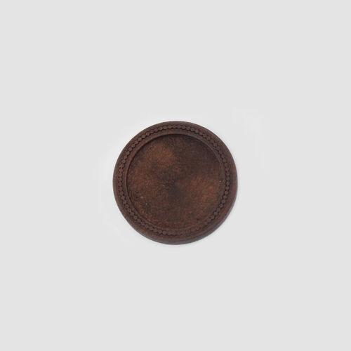 "10Pcs Wooden 1/""//25mm Round Pendant Trays Blanks Bezel Cabochons Settings Base"