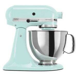 KitchenAid-5-Quart-Artisan-Tilt-Head-Stand-Mixer-Ice-Blue