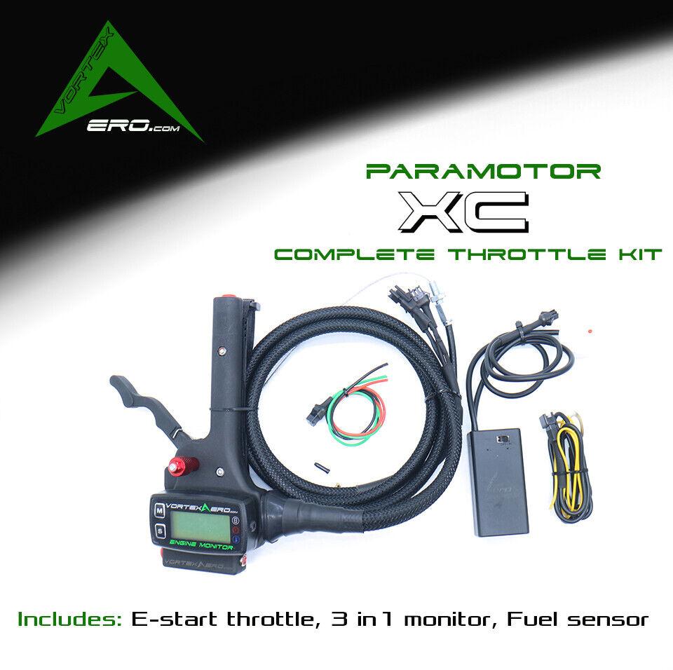 Throssotle, Paramotor,Powerosso Paragliding,CMPLT ESTART KIT