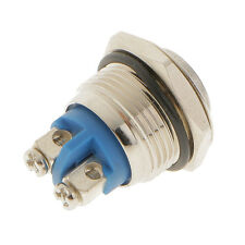 12V Metal Switch Momentary Push On Button 16mm Car Motorcycle Boat