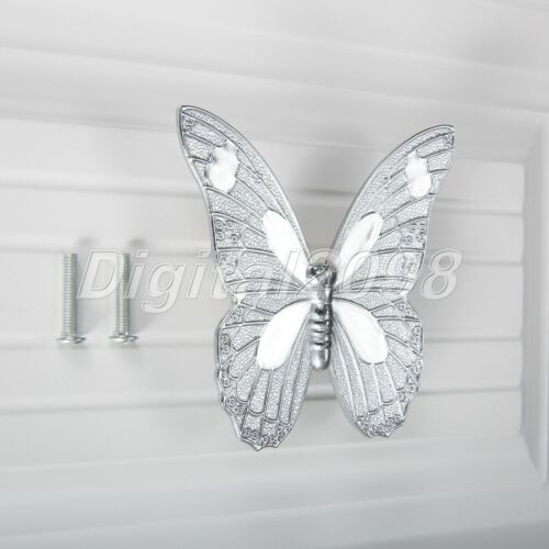 Chic Butterfly Cupboard Door Cabinet Knob Kitchen Drawer Wardrobe Pull Handle