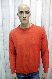 HARMONT-amp-BLAINE-Maglione-Uomo-Taglia-M-Lana-Casual-Sweater-Man-Pullover-Pull