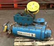 Ace Industries 3 Ton Electric Cable Hoist Model 3 316267496 49c