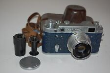Fed-2, Type C2, Genuine Blue Version Soviet Rangefinder Camera. (697637) UK Sale