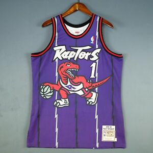 new products aa0a1 b0bc2 100% Authentic Tracy Mcgrady Mitchell Ness 98 99 Raptors ...