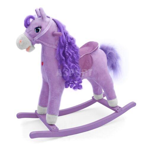 Schaukelpferd Schaukelspielzeug Pony Holz Schaukel Pferd Schaukelpony