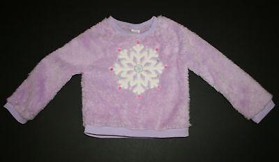 Knowledgeable Neu Gymboree Sherpa Weich Unscharf Schneeflocken Pullover Top 3t Nwt Lavendel Girls' Clothing (newborn-5t) Sweaters