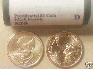 2015 P /& D PRESIDENTIAL DOLLAR ROLLS~Lyndon Johnson~Head//Tail