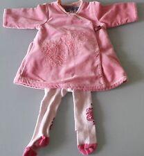 Splendide robe KENZO et collants KENZO bébé fille naissance 0 mois 50cm TBE