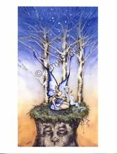 "Amy Brown Print Release The Stars Faery Art  8.5""x11"" Paper"