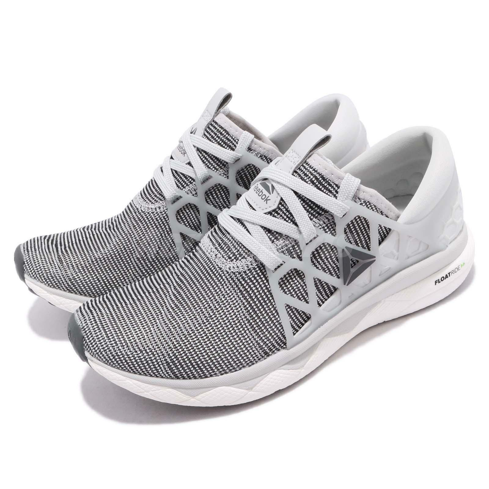 Reebok floatride ejecutar flexweave Cráneo gris gris gris Negro blancoo Zapatos deportivos de mujer CN6164  tienda de bajo costo