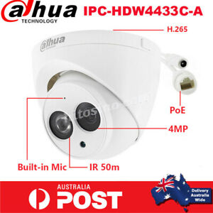 Dahua HD 4MP IPC-HDW4433C-A Built-in MIC Home Security CCTV