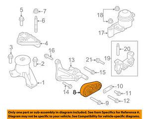 FORD OEM 12-16 Focus-Engine Motor Mount Torque Strut ... Ford Focus Engine Mount Diagram on