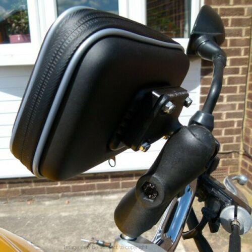 "6 /""pantalla impermeable GPS Satnav motocicleta M8 ampliado de montaje del manillar"