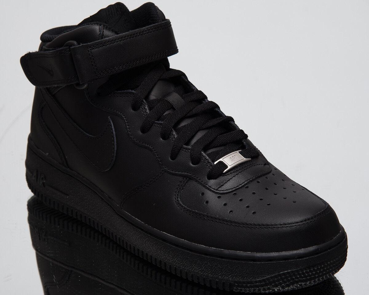 Nike Air Force 1 Mid '07 Uomo Uomo Uomo Lifestyle scarpe nero 2018 scarpe da ginnastica 315123-001 797eac