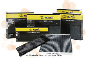 Sedona Charcoal activated carbon cabin air filter For Kia Grand Carnival