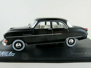 IXO-34-Opel-Capitaine-039-54-1953-1955-en-noir-1-43-Nouveau-PC-Vitrine
