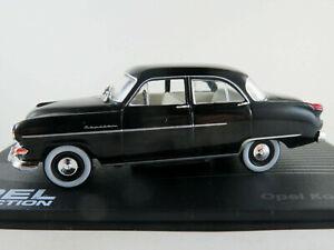 Ixo-34-Opel-capitan-039-54-1953-1955-en-negro-1-43-nuevo-PC-vitrina