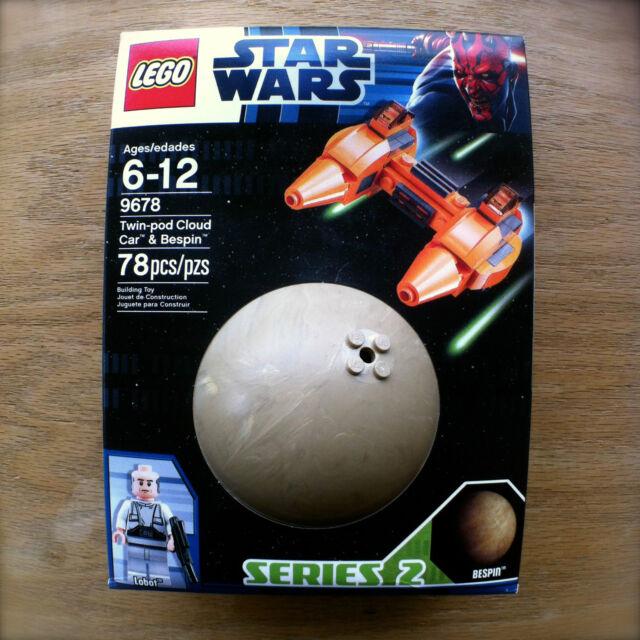 LEGO 9678 STAR WARS Twin-Pod Cloud Car & Bespin LOBOT 78 PCS Series 2 SEALED New
