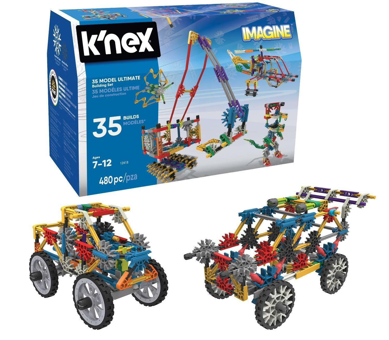 K'NEX Imagine 35 Model Building Set for Ages 7+, Construction NEW & FAST