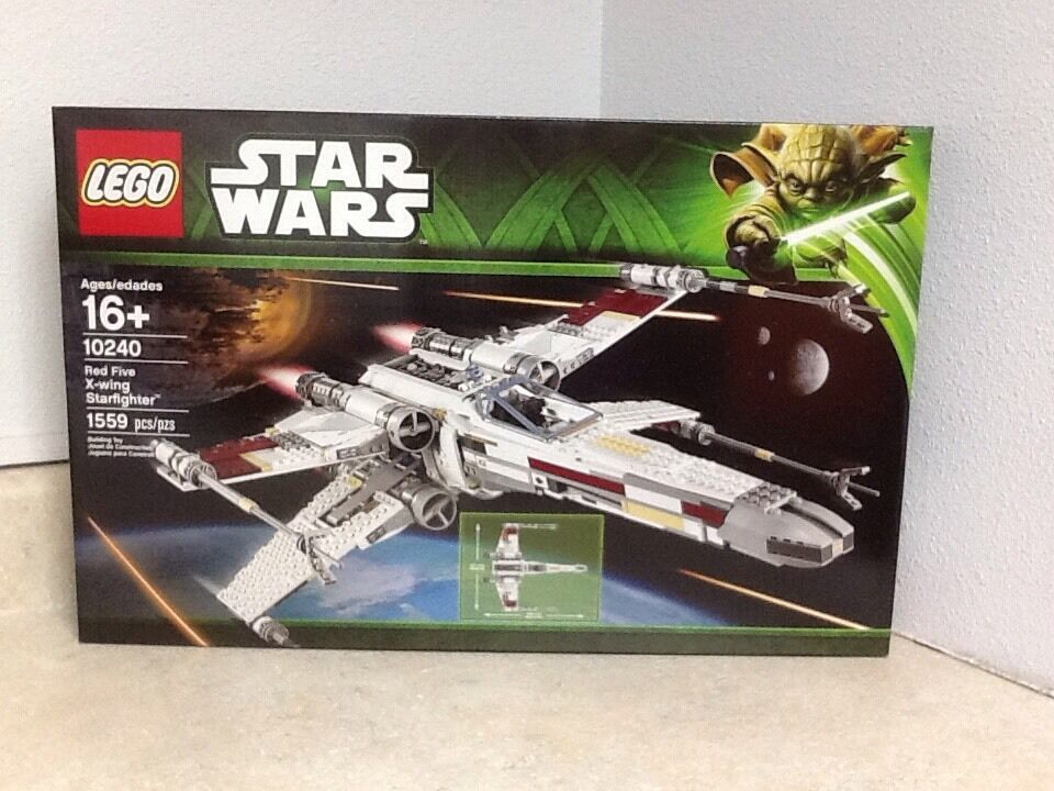 Lego Star Wars rosso Five X-Wing Starfighter 10240 Retirosso
