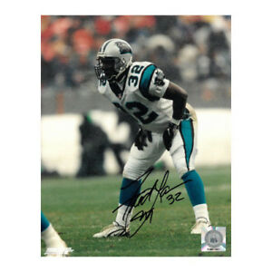 100% authentic 3b687 fea1a Details about Fred Lane signed Carolina Panthers 8x10 Photo w/ #32
