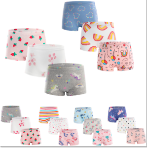 3 Stück Mädchen Kinder Pantys Unterhose Unterwäsche Slips Kids Panty