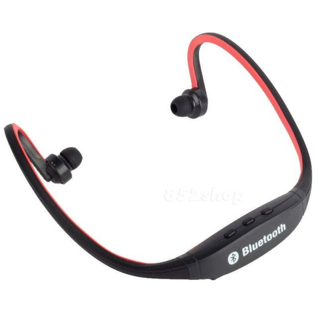Bluetooth Wireless Headset Stereo Headphone Earphone Handfree Sport Universal
