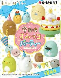 Re-Ment San-X Sumikko Gurashi Miniature Party re-ment Full Set of 8 from Japan*