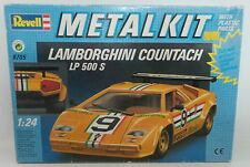 CARS : LAMBORGHINI COUNTACH MODEL KIT BY REVELL SCALE 1:24 NO.8705 (MLFP)