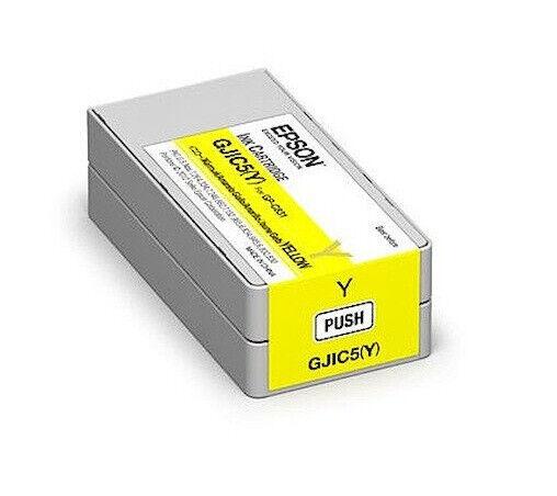 cartuccia inkjet originale - colore giallo - per Epson GPC831/GPM831 - GJIC5Y -