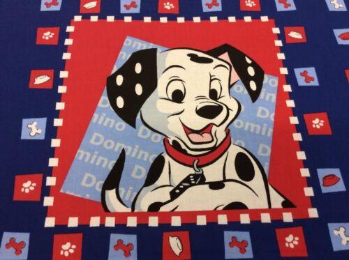 101 Dalmatians Kissen Panel Stoff Panels Disney 100/% Baumwolle