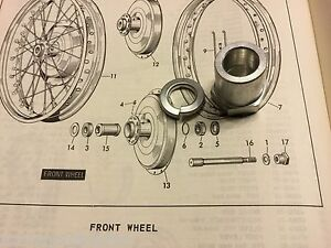 Details about Harley K-Model & Sportster Front Axle Nut 1952-1972 XL on