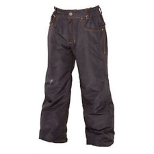 686 Boys LTD Destructed Denim Snowboard Pant (L) Black