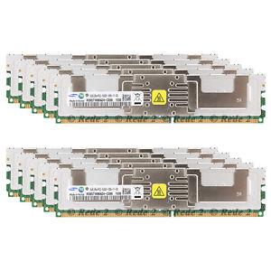 New-64GB-KIT-8x8GB-PC2-5300F-DDR2-667MHz-ECC-FBDIMM-Server-Memory-RAM