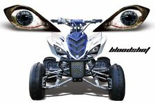 AMR Racing Head Light Graphic Decal Cover Yamaha Raptor 700/350/250 YFZ BLOODSHT
